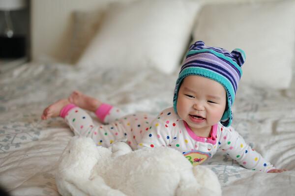 Olivia Violet Month 8
