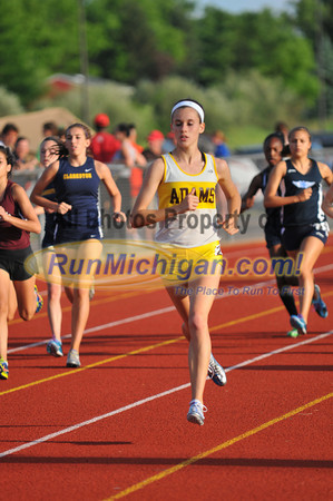 Girl's 1600 Meters - 2012 Oakland County Track Meet