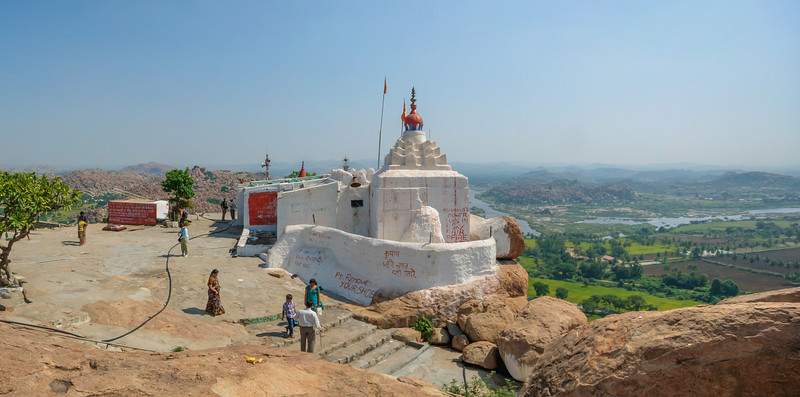 Hanuman Temple on Anjaneya Hill