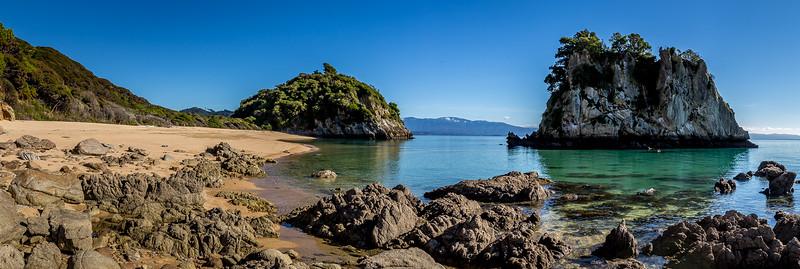 Bucht am «Taupo Point»