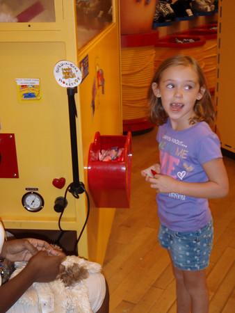 2008 August - Kim and Kourtney Visit