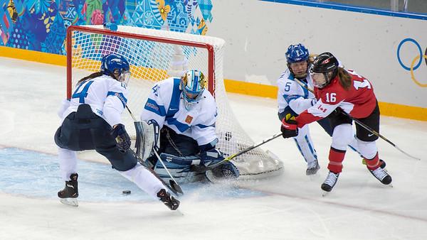 10.2 Finland-Cananada women´s ice hockey