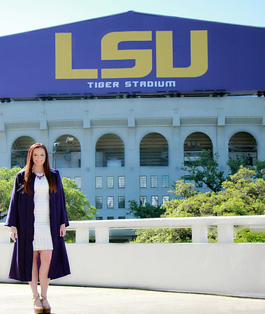 Dana Scalf - LSU Senior
