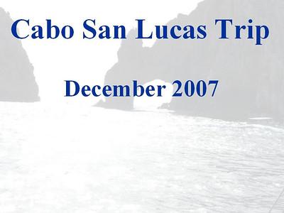 Cabos San Lucas Dec 2007