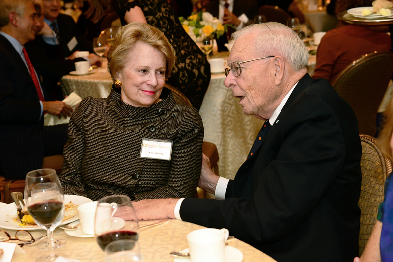 NEHGS Vice Chairman of the Board Nancy S. Maulsby and NEHGS Councilor William M. Crozier, Jr.