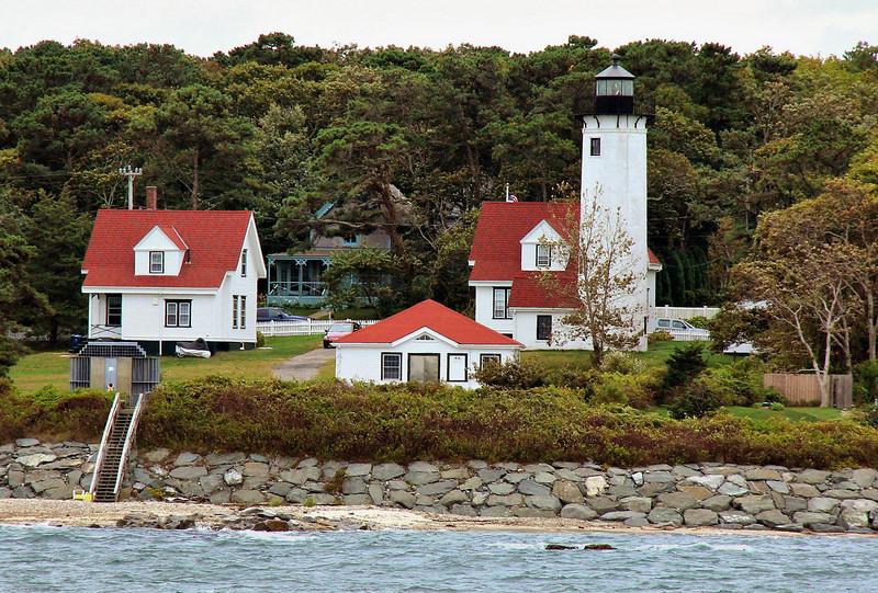 East Chop Lighthouse on Martha's Vineyard.