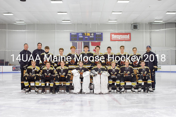 Maine Moose Hockey 14U AA 2018
