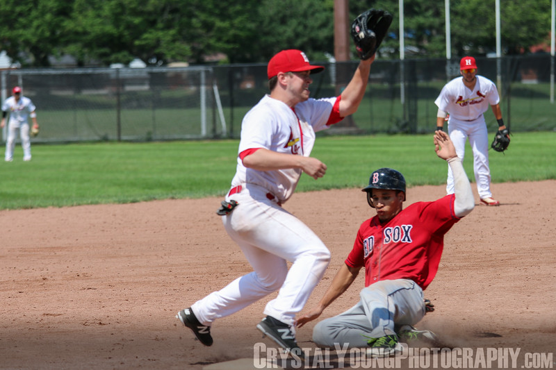 Brantford Red Sox at Hamilton Cardinals July 2, 2017