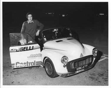 Nic Mann Morris Minor V8 1984