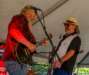 Set one: One More Mile at the Beer Garden, Vashon Island Strawberry Festival Saturday 2018