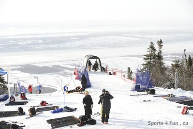 Giant Slalom, Ladies CAN - QC - MONT-SAINTE-ANNE 1/26/2013