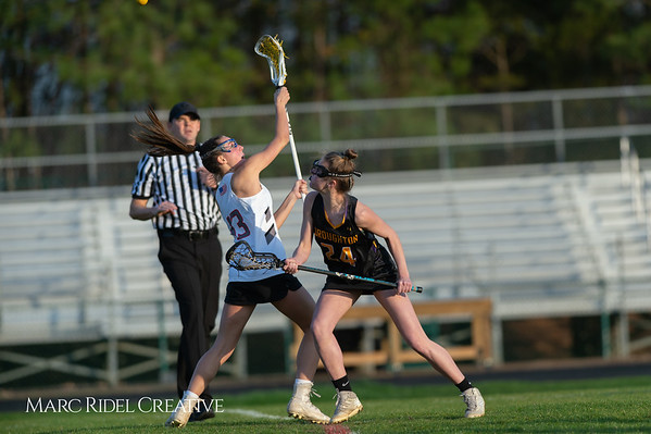 Broughton Lady Caps lacrosse at Middle Creek. February 26, 2019. D4S_1827
