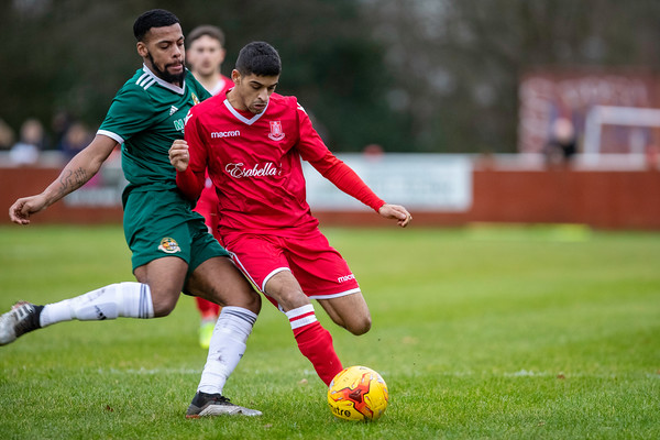 Highgate Utd FC vs Worcester City FC - 28th Dec 2019