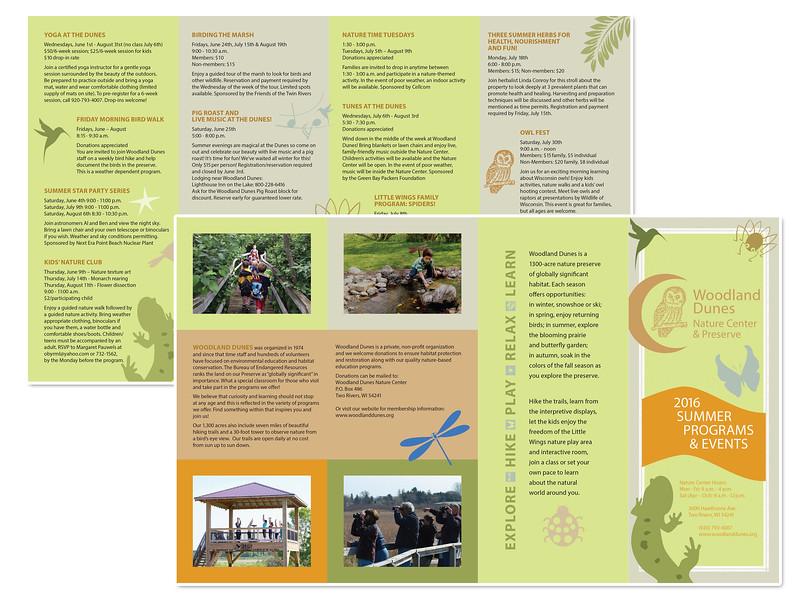 Summer Programs Brochure