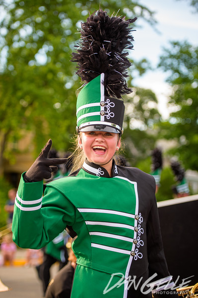 Litchfield Marching Bands in 2019 Watercade Parade