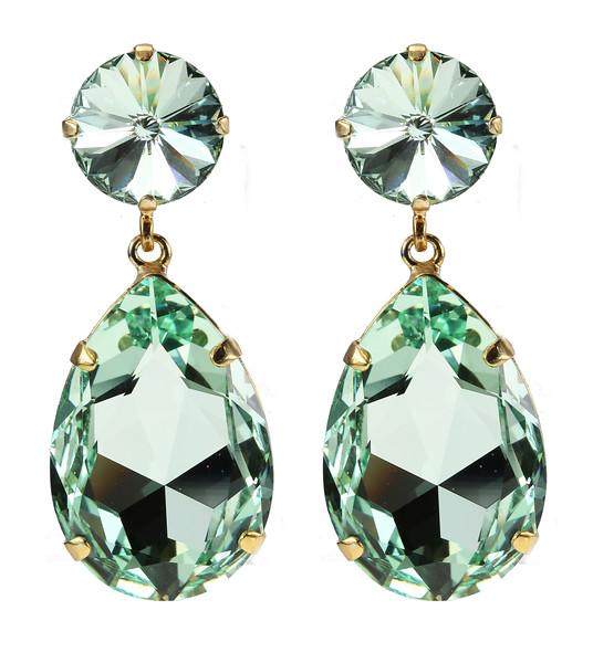 Perfect Drop Earrings / Chrysolite