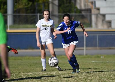 Pendleton at Wren JV Girls Soccer 3-29-21