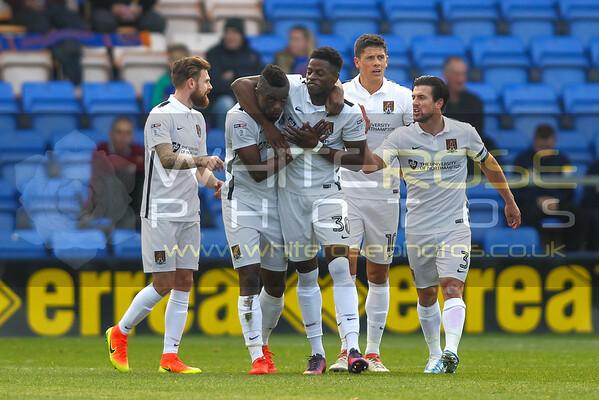 Shrewsbury Town v Northampton Town 22 - 10 - 16