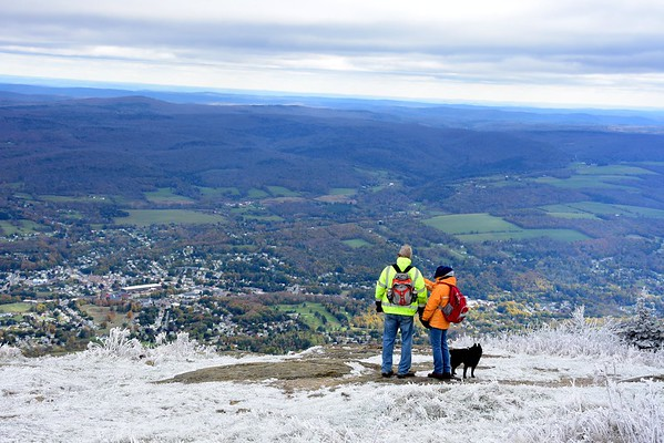 First snow on Mount Greylock - 102518