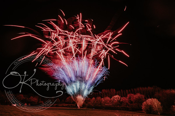 Fireworks - Lutterworth Golf Club