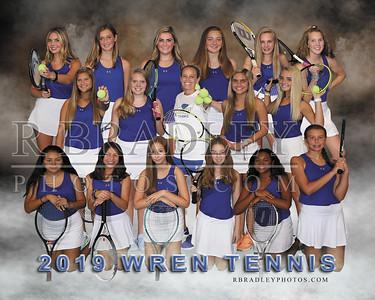 2019 Wren Girls Tennis