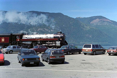 The Vancouver Symphony Orchestra atop Blackcomb Mountain, Whistler, BC - Saturday 5 August 1989