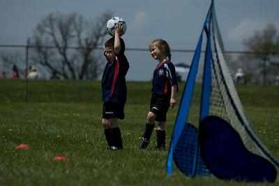 Josiah's Fourth Soccer Game