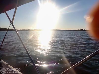 Sunset Bird Rookery Boat Cruise