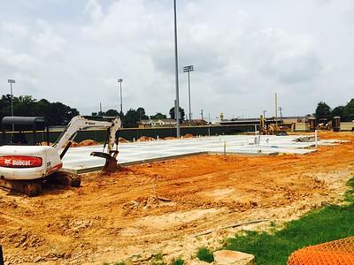 Fieldhouse Construction - Summer 2015