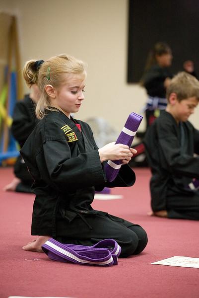 Moore's Karate Test 11-16-11
