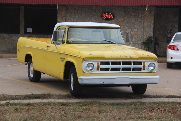 11.24.13 Yellow Dodge Truck
