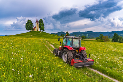Around central west Slovenia - May 12, 2018