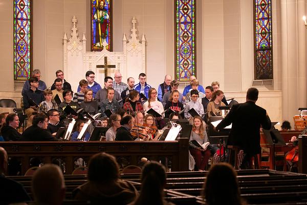 2018 Messiah Rehearsal