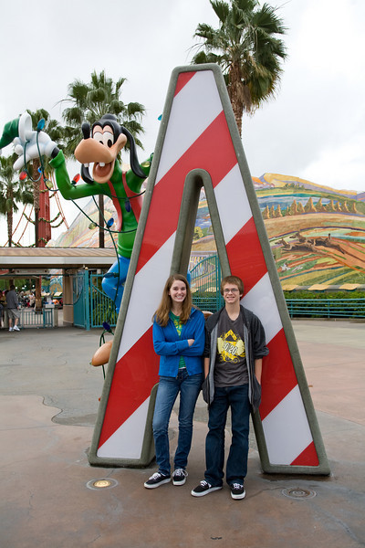 Disneyland Trip Day 1 - Nov 2008