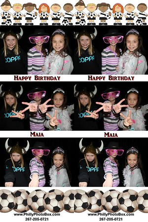 Maia's Birthday Party 2015