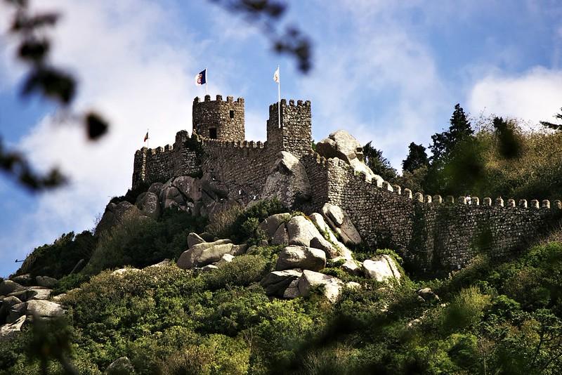 A ještě druhá část celého komplexu Castelo dos Mouros