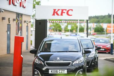 KFC opening Swansea