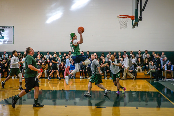 Faculty vs. Student Basketball Game