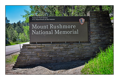 Mount Rushmore National Memorial - USA - Over The Years.