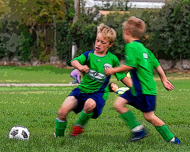 Corbin Sept 9 2010 Soccer game