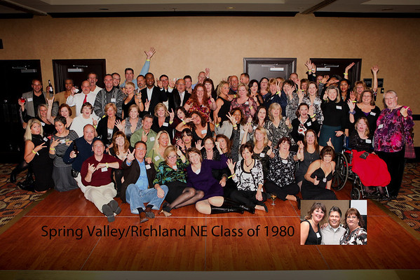 Spring Valley Richland NE Class of 1980 Reunion
