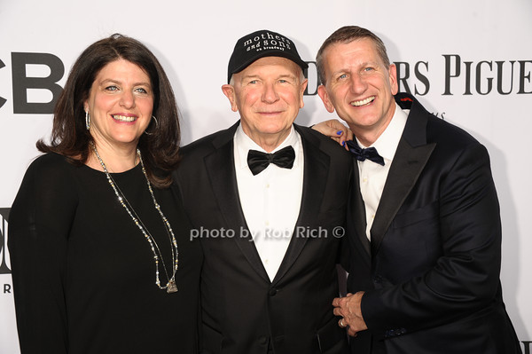guest, Terrence McNally and husband Tom Kirdahy photo by Rob Rich/SocietyAllure.com © 2014 robwayne1@aol.com 516-676-3939