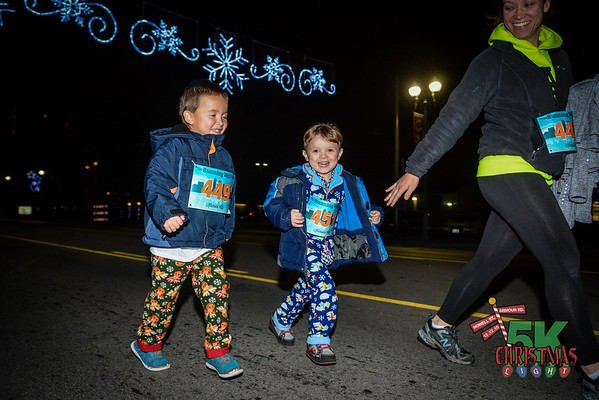 Christmas Light Run - 2015