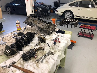 911 Engine Rebuild