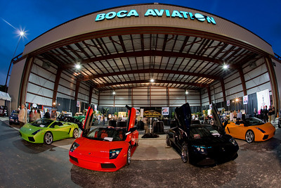 Second Annual Boca Raton Concours d' Elegance Airport Reception