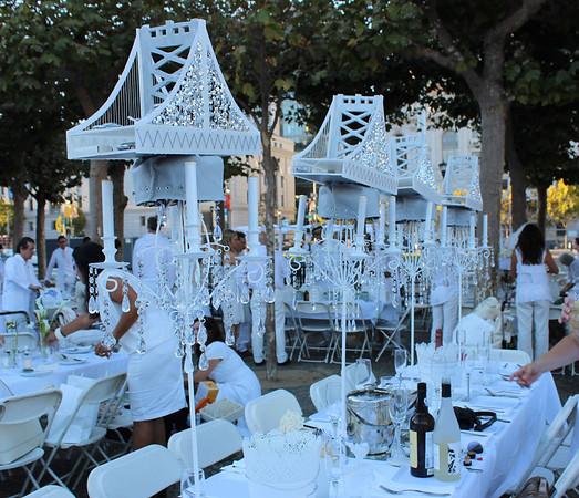 Le Dîner en Blanc ~ San Francisco September 2013