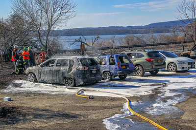 3-9-20 Mutual Aid Brush Fire, Rt 9DCold Spring