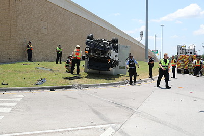 McKinney TX. Armored truck MVA.  Virginia Pkwy. 7/31/19