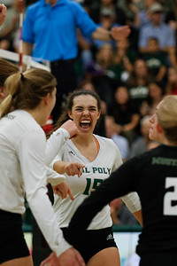 2019 Cal Poly Volleyball vs UCSB