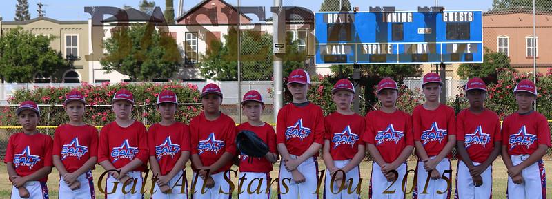Galt All Stars 10u   2015